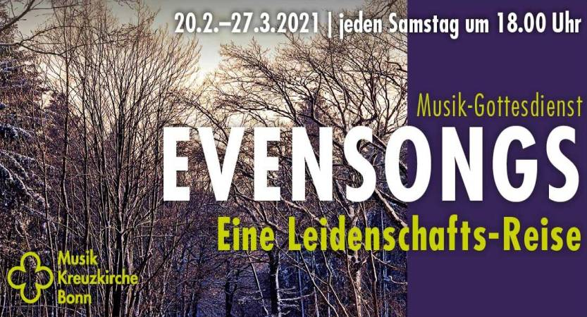 EVENSONGS – NEUES MUSIKALISCHES PROGRAMM